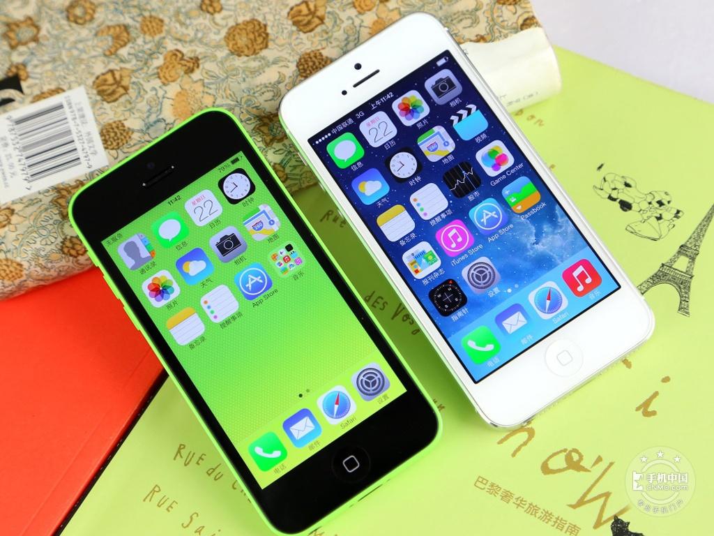 苹果iPhone5c(8GB)产品对比第3张