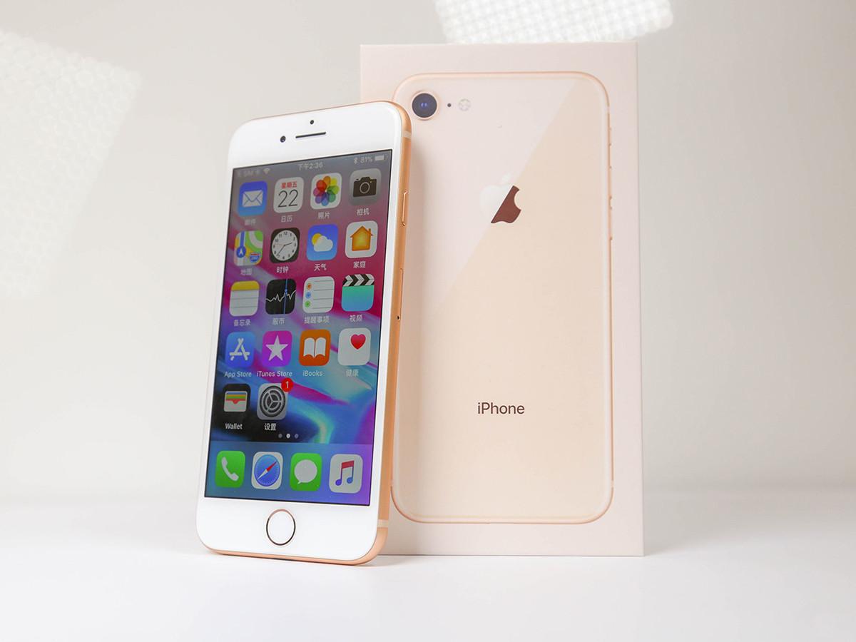 苹果iPhone8(256GB)整体外观第1张