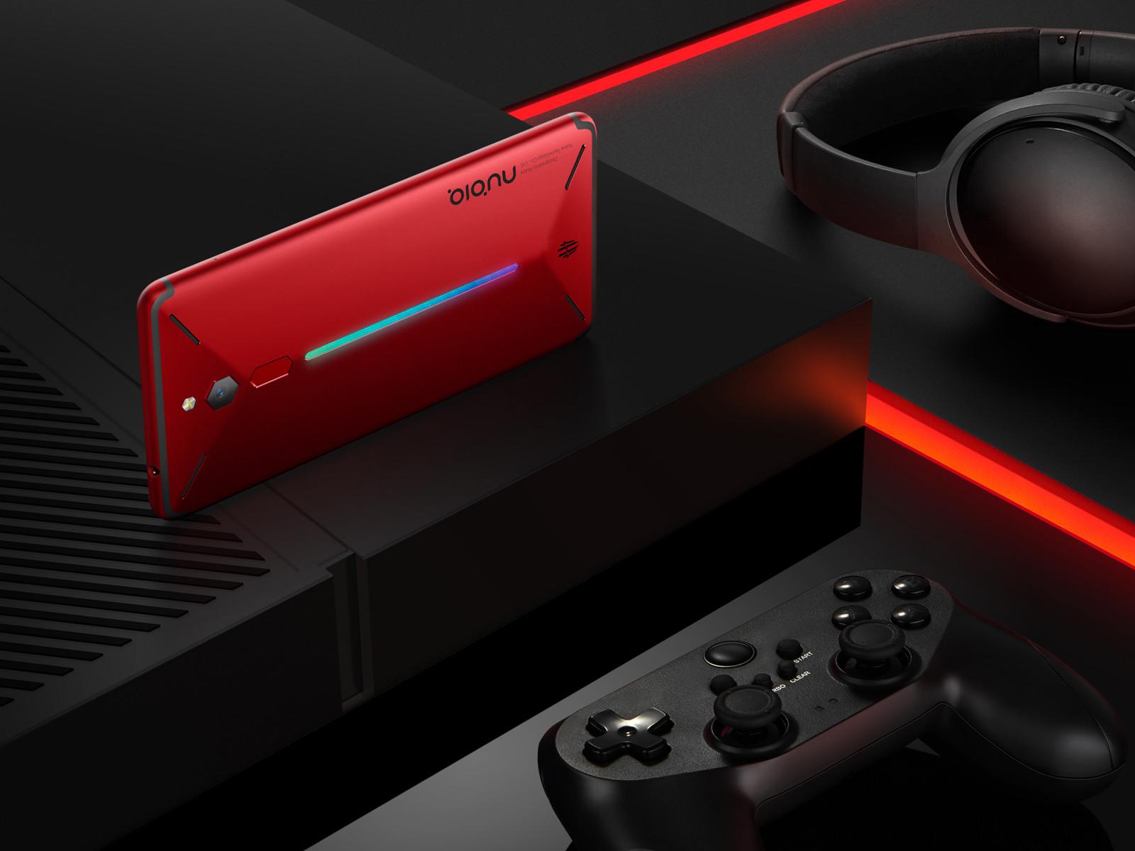 努比亚红魔电竞游戏手机(64GB)整体外观第7张