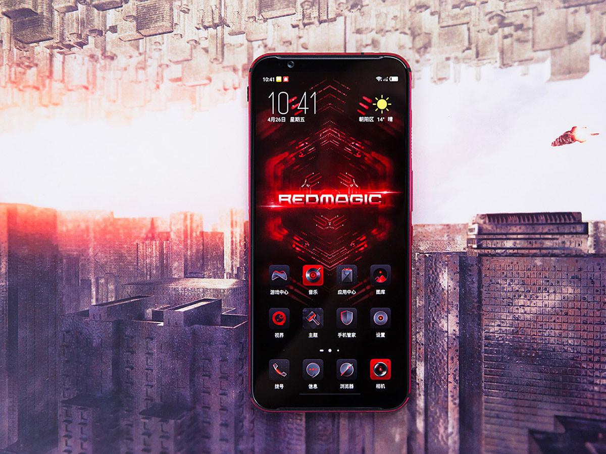 努比亚红魔3电竞手机(8+128GB)整体外观第2张