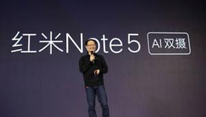 【红米Note 5】骁龙636中国首发 + 6GB大内存,畅玩大型3D游戏,依然4000mAh超长续航,支持快充